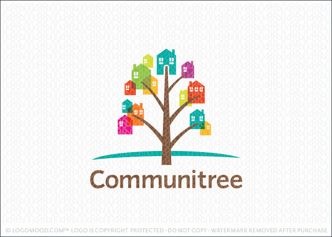 Community Tree Logo For Sale