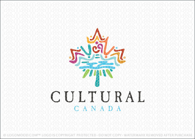 ... Logos for Sale Cultural Maple Leaf : Readymade Logos for Sale