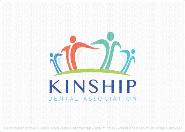 Dental Community People Logo For Sale