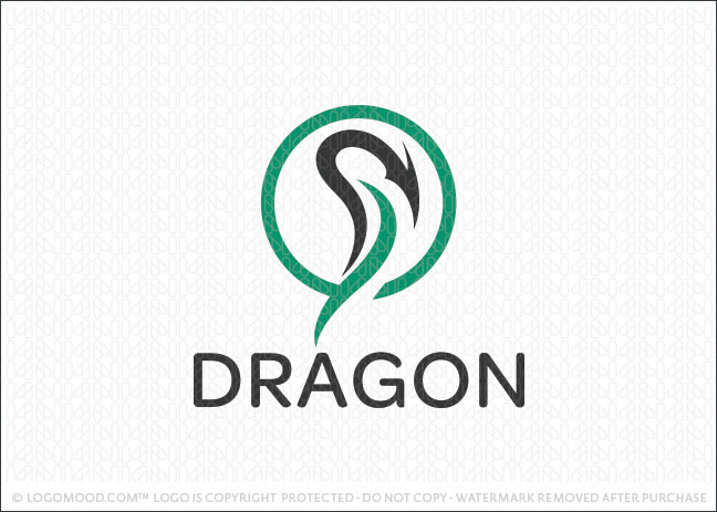 Dragon Head Logo For Sale