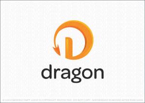 Dragon Tail Logo For Sale