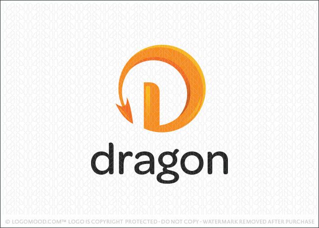 Dragon Tail Logo For Sale