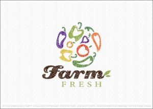 Farm Fresh Markets Logo For Sale