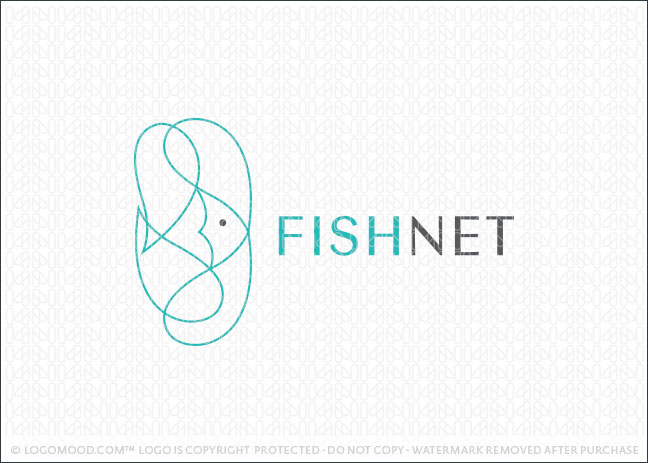 Fish Net Logo For Sale