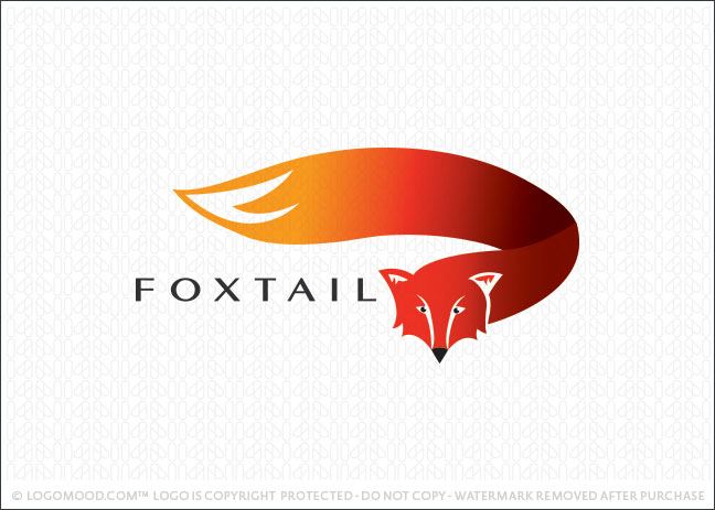 Fox Tail Logo For Sale