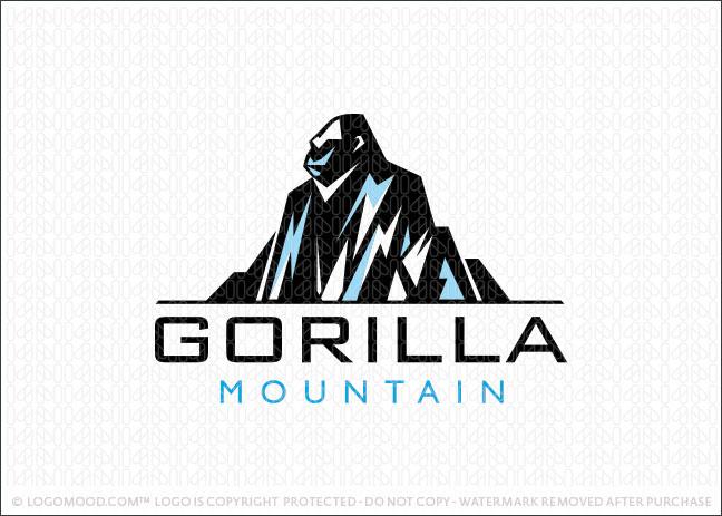 Gorilla Mountain Logo For Sale