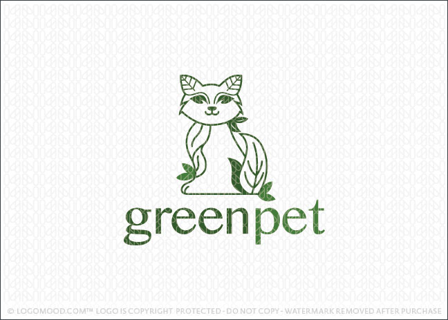 Green Pet Logo For Sale