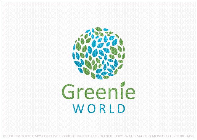 Greenie World Logo For Sale