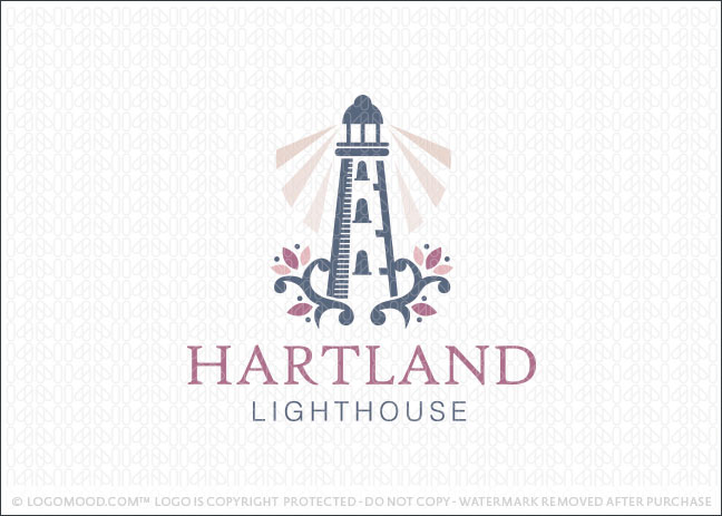 Heartland Lighthouse Logo For Sale