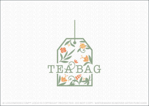 Herbal Tea Bag Logo For Sale