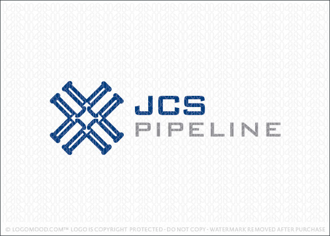 JCS Pipeline Logo For Sale