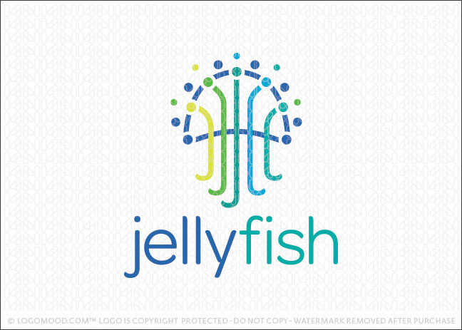Jellyfish Logo For Sale