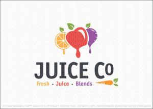Juice Company Logo For Sale