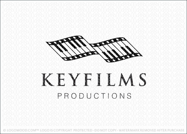 Key Films Productions Logo For Sale