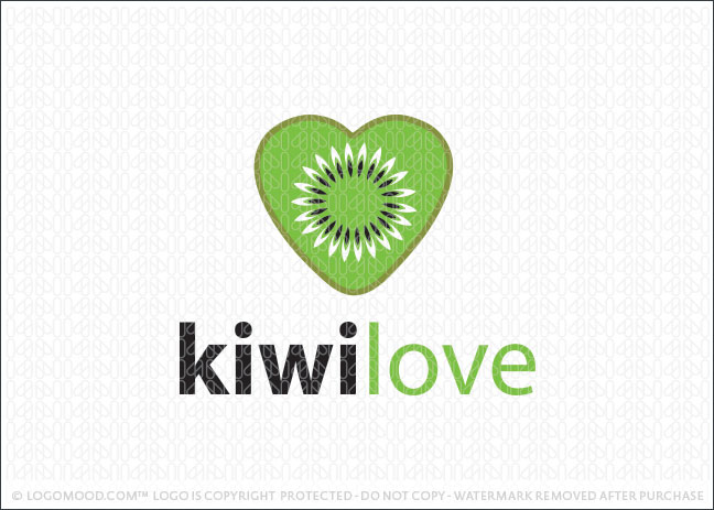 Kiwi Love Logo For Sale