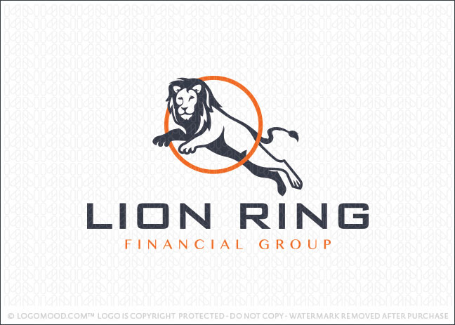 Lion Ring Logo For Sale