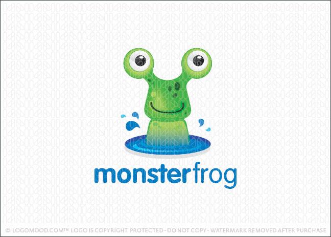 Monster Frog Logo For Sale