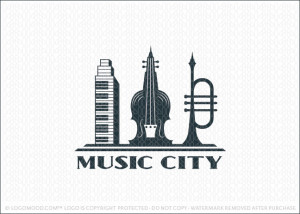 Music City Logo For Sale
