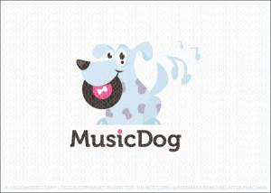 Music Dog Logo For Sale