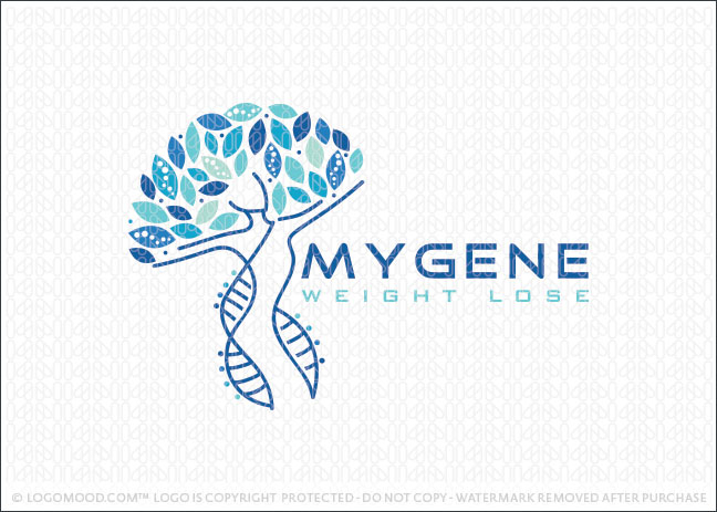 My Gene Weight Lose Logo For Sale