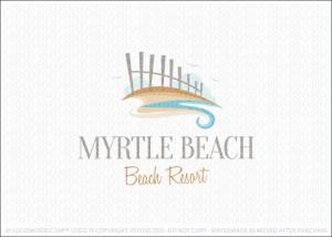 Myrtle Beach Shore Logo For Sale