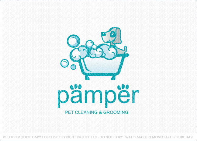 Pamper Logo For Sale