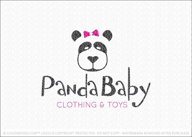 Panda Baby Logo For Sale