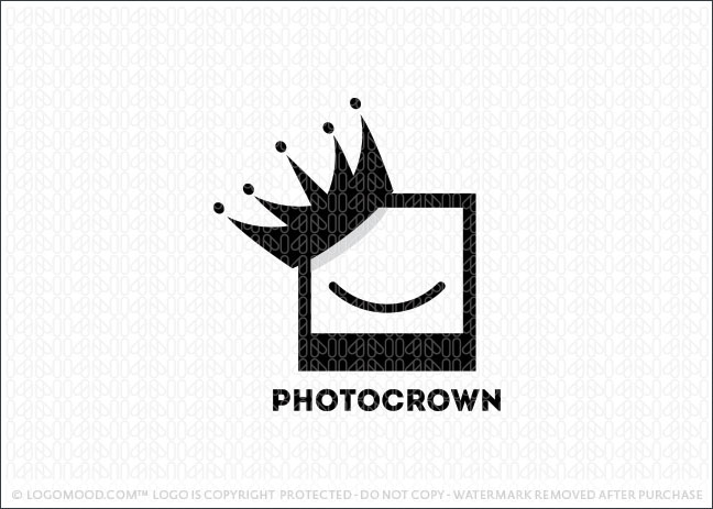 Photo Crown Logo For Sale