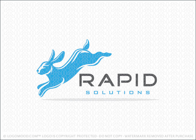 Rapid Solutions Logo For Sale