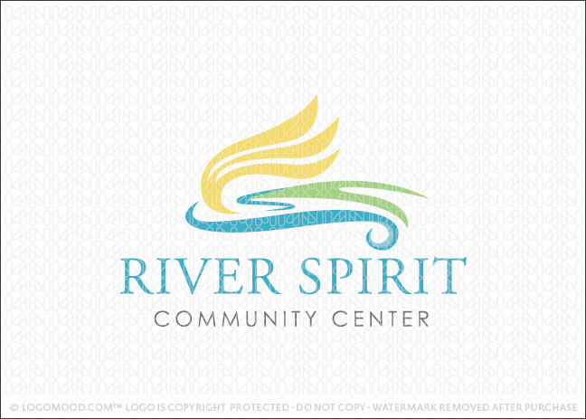 River Spirit Community Logo For Sale