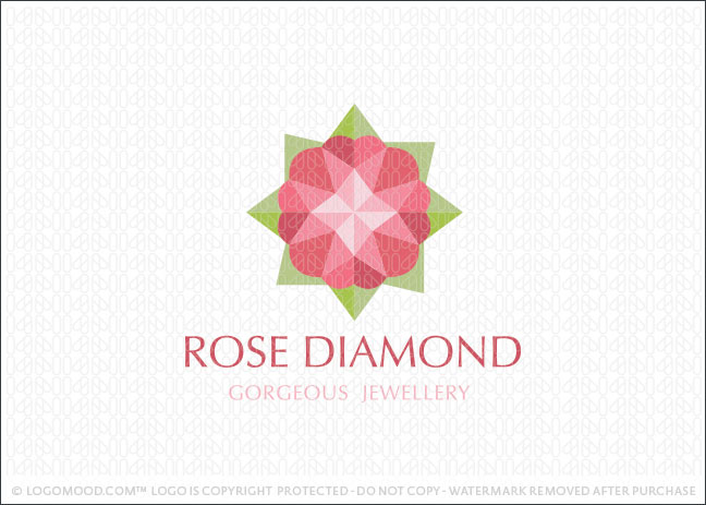 Rose Diamond Logo For Sale