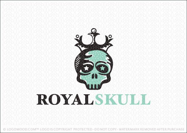 Readymade Logos for Sale Royal Skull Readymade Logos for Sale