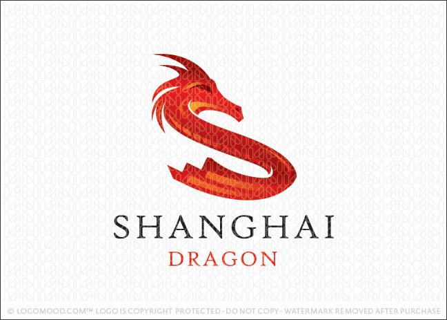 Shanghai Dragon Logo For Sale