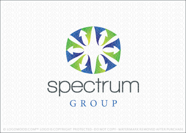 Spectrum Arrows Logo For Sale