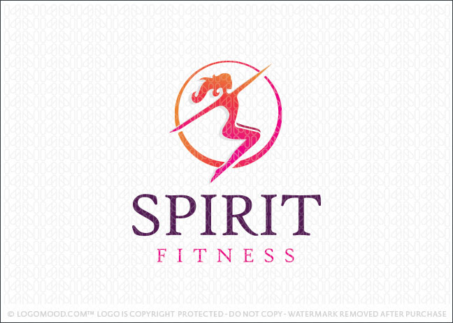 Spirit Fitness Logo For Sale