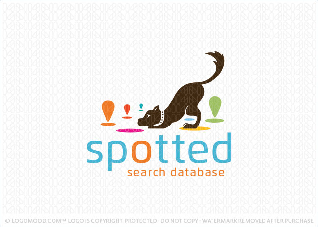 Spotted Dog Search | Readymade Logos for Sale