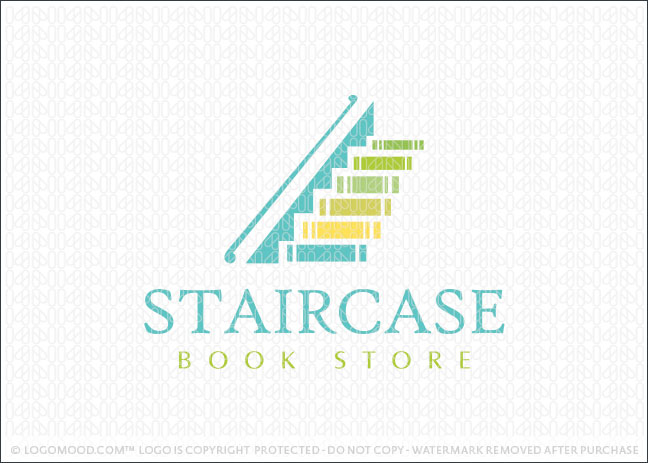 Staircase Books Logo For Sale