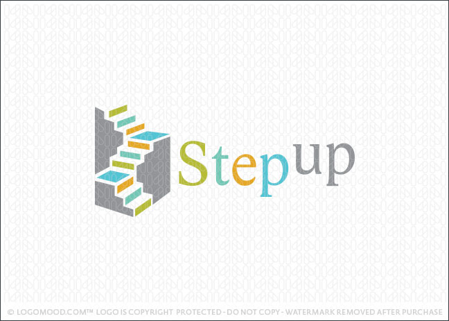Readymade Logos For Sale Step Up Staircase Readymade Logos For Sale
