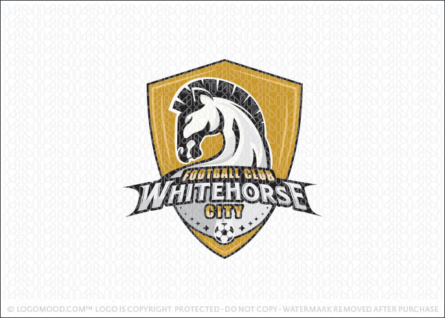 Strong Sports Horse Logo For Sale