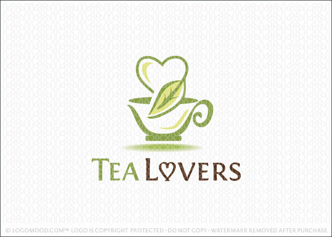 Tea Lovers Logo For Sale