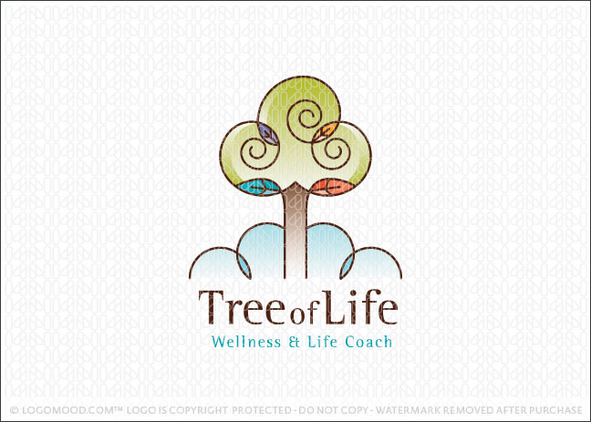 Tree of Life Logo For Sale