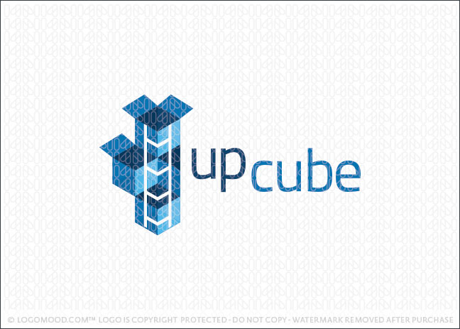 Up Cube Logo For Sale