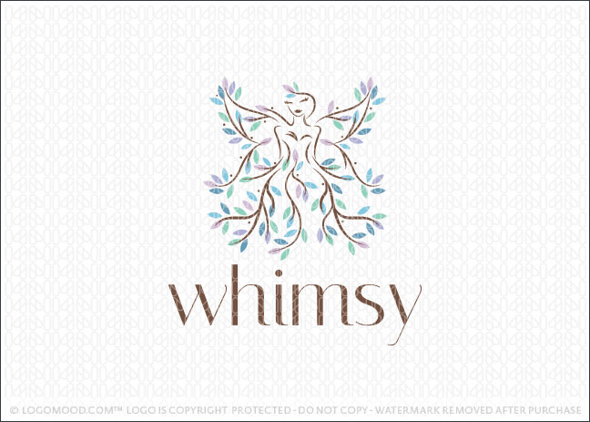 Whimsy Fairy Tree Logo For Sale