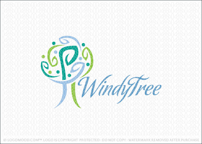 Windy Tree Logo For Sale