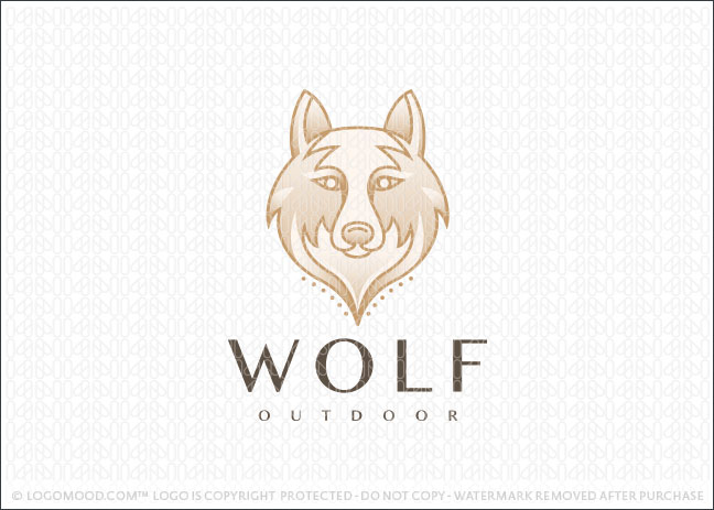 Wolf Head Outdoors Logo For Sale