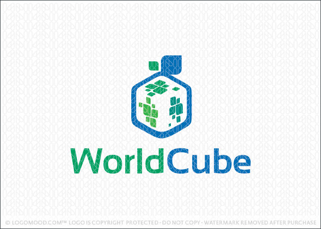 World Cube Logo For Sale