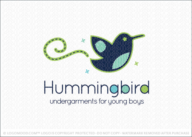Young Hummingbird Logo For Sale