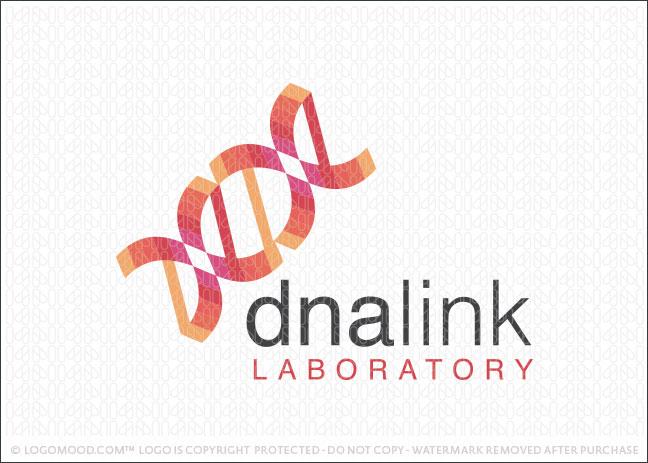 dna link Logo For Sale
