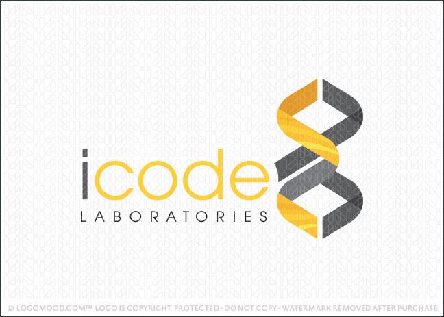 i code laboratories Logo For Sale