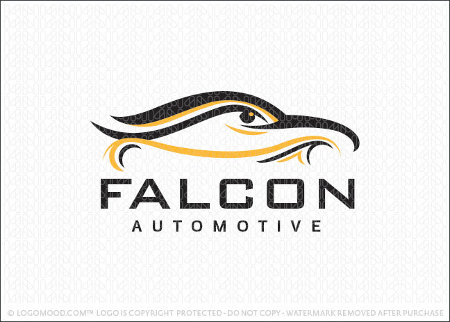 Falcon Automotive Company Logo For Sale
